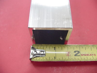 "2 Pieces 1-1/2""x 1-1/2""x 1/8"" Wall x 18"" Long ALUMINUM SQUARE TUBE 6063 T52"