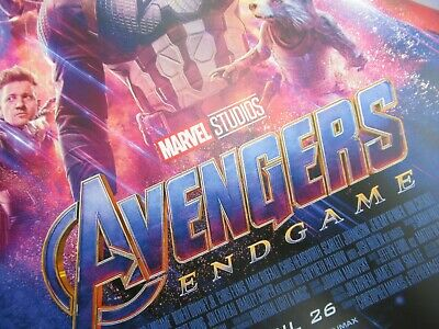 """Avengers -  Endgame ( 11"""" x 17"""" ) Movie Collector's Poster Print ( T2 )- B2G1F 7"""