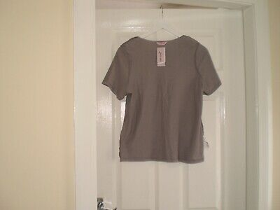 """Blouse""""Per Una"""" M&S Sleepwear Grey Colour Size:14 ( UK ) New With Tags 6"""