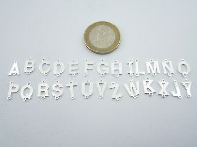 1 connettore 2 fori  lettera Y in argento 925 made in italy misure 11 x 6 mm
