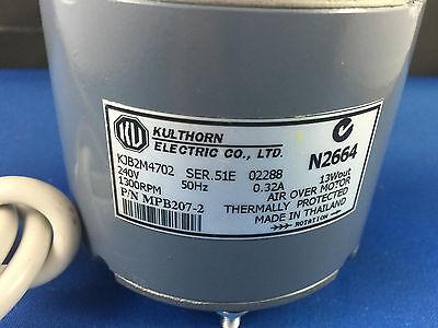 Kulthorn  Condenser Fan Motor 13Watt 0.32Amp 1300Rpm Kjb2M4702 Hub Shaft 2