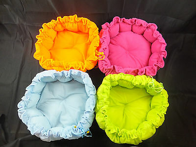 Adjustable ´Flower´ Bed Assorted Colours For Cats or Small Dogs  CBE 01 7 • EUR 17,49