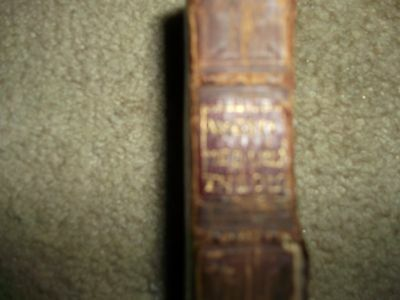 Rare 1651 Medulla Theologica Book - Leather Cover 6