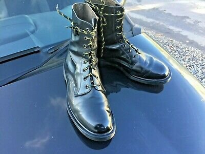 Dr Martens 1460 black leather boots UK 10 EU 45 Made in England 3
