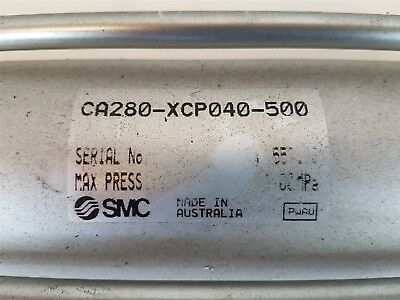 SMC CA280-XCP040-500 Pneumatic Tie-rod Cylinder 1MPa - Good Used