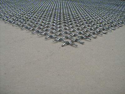 Wellengitter Gitter 1,0x1,0 Meter aus verzinkten Stahl MW 40x40x4