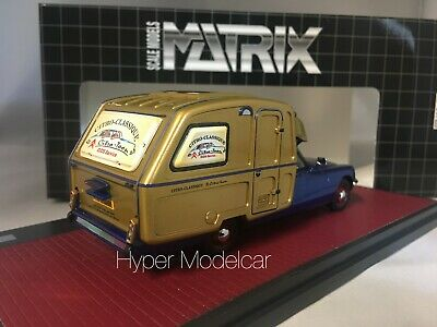 Matrix scale models mx50304-061 scala 1//43 citroen id ds camper 1973 blue gold