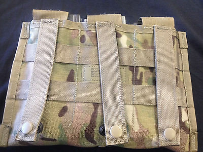 MULTICAM  Molle II Three Mag Side by side Pouch Military Surplus