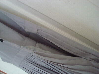 ~ UNION ~ Bib & Brace DUNGAREE TOP & PLEATED SKIRT Pinafore DRESS Grey 12 BNWT 3