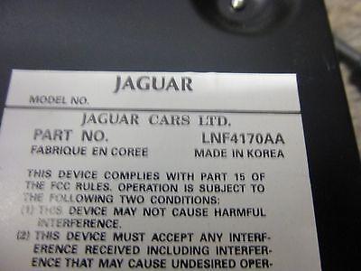 JAGUAR XK8  1998 1999 2000 2001 2002 AMPLIFIER LNF4170AA