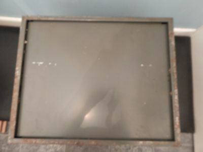 Art Deco Art Metal Green Index Card 4 drawer filer very heavy solid metal Vintag 6