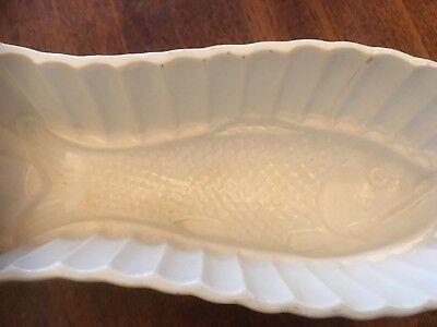 Puddingform Sturzform Motiv Fisch - schön gearbeitet ca 24x10x8 cm