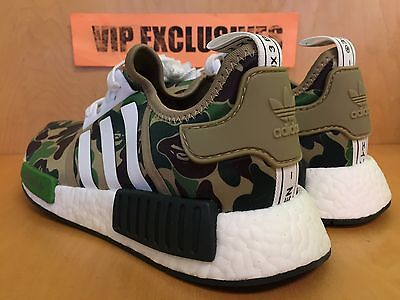 8cddcfdcccc4c ... Adidas NMD R1 Bape Green Camo Army Bathing Ape Nomad Runner BA7326  SHIPPING NOW 6