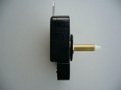 CLOCK MECHANISM QUARTZ EXTRA LONG SWEEP SPINDLE. 130mm WHITE BATON HANDS 4