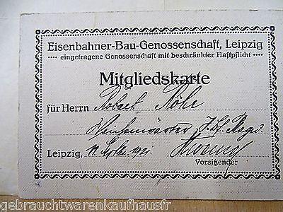 Eisenbahner Unterlagen von 1920 mit verschiedenen Dokumenten 3