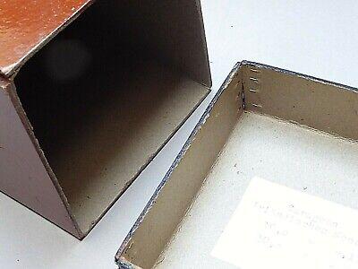 S4 -  5x antike Apotheke Behälter   Holz & Pappe - Apotheker Dose  Deckeldose 2