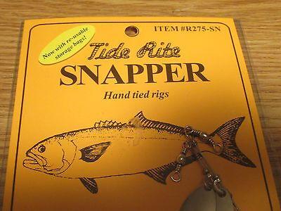 1 TIDE RITE SNAPPER BLUE STOPPER POPPER DFJ-FSP RIG BLUEFISH FISHING BAIT RIGS