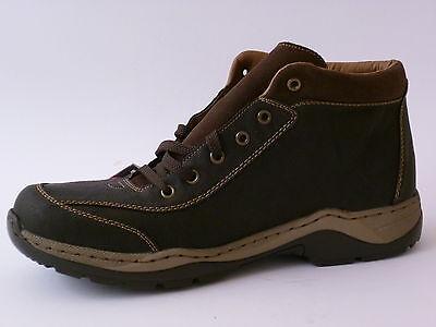 RIEKER TEX HERREN Schnür BOOTS Schuhe 45 Winter Warm Stiefel