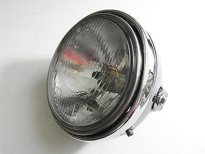 Klarglas Scheinwerfer schwarz Chromrand Honda CB 750 seven fifty black headlight