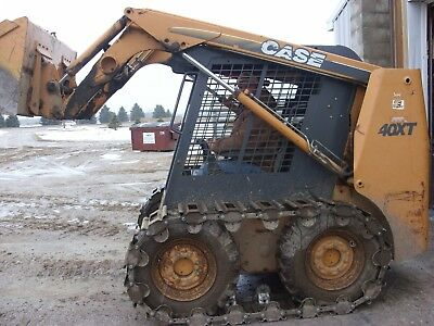 #1 Over the Tire Skid Steer Steel Tracks for ALL MAKES & MODELS w/ FREE SHIP