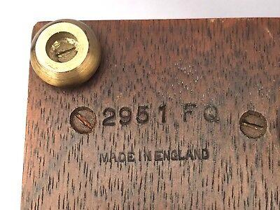 ELLIOTT LONDON Walnut & Burr Walnut Bracket Mantel Clock RUSSELLS LTD 7