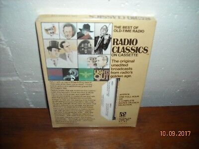 RADIO CLASSICS ON Cassette Burns & Allen (Unopened) *Free S&H USA* RARE