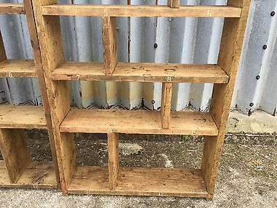 Industrial Up-Cycled Pigeon Hole Shelving Units 5