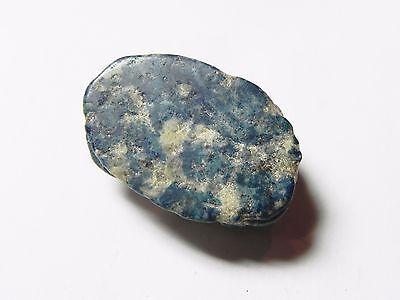 Zurqieh -Af601-  Ancient Egypt, New Kingdom. Huge Lapis Lazuli Scarab 1400 B.c 7