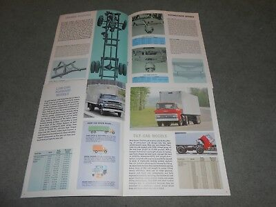 1965 CHEVROLET MEDIUM /& HEAVY DIESEL TRUCK BROCHURE 65 CHEVY ORIG 16 p CATALOG