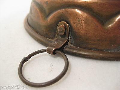 ++ kleinere alte  schöne Kupfer Backform Kupferform   ++Hhj 4