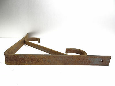 Vintage Steel Corner Bracket Plant Hanger Hook Decorative Architectural Hardware 6