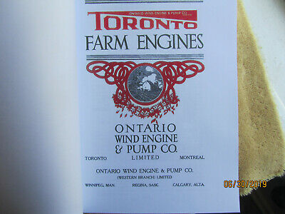 Toronto Gas Engine Catalog, All Nelson Brothers Engines, Ontario Wind Engine Co. 2