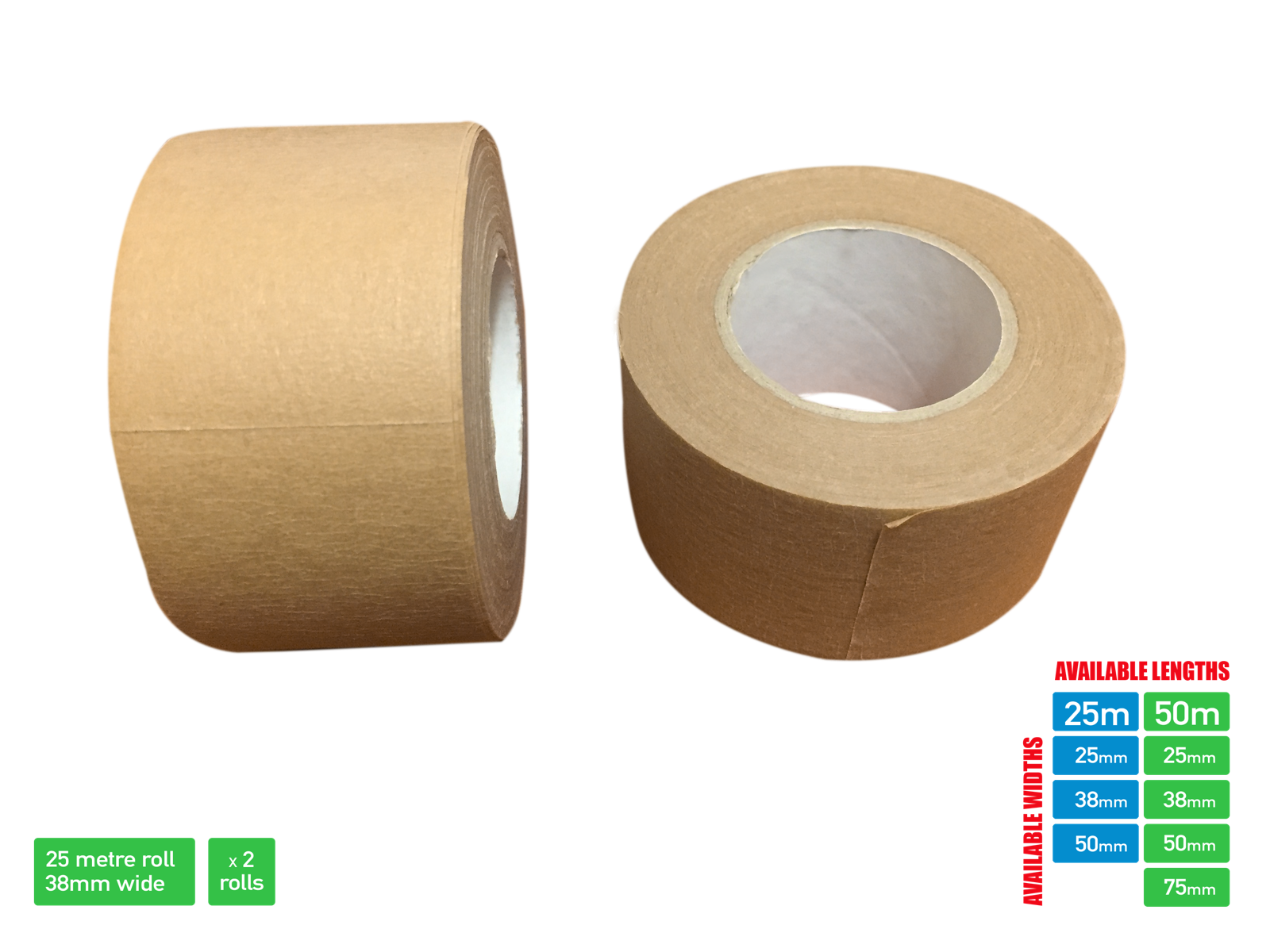 Picture Framing Tape Self Adhesive Brown Craft Framing Tape 50/25 metre 9