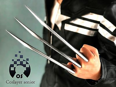 2 pcs/1 pair X-men Wolverine Claws Logan Paws cosplay props ABS Plastic