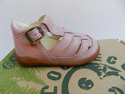 MOD8 Ekoko Sandales Chaussures Fille 20 Ballerines Rose Babies UK4 Child Neuf 2
