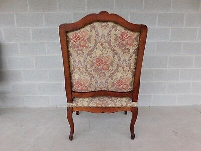 Quality Vintage French Louis XV Style Fireside Accent Arm Chairs  - a Pair 12