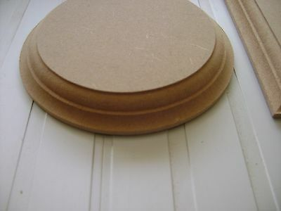 """wooden MDF circles round craft plaques plinth 18mm 4/"""" 5/"""" 6/"""" 7/"""" 8/""""....."""
