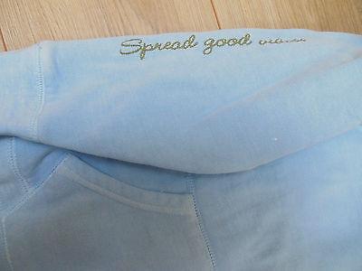 Girl Good Kids cool hoodie size 12 y hoody peace blue NEW 3