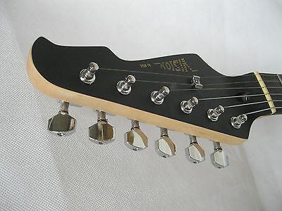 Optik ! E-Gitarre Matt Blau - Pickup Glanz Schwarz - Elektrogitarre - Tremolo -# 4
