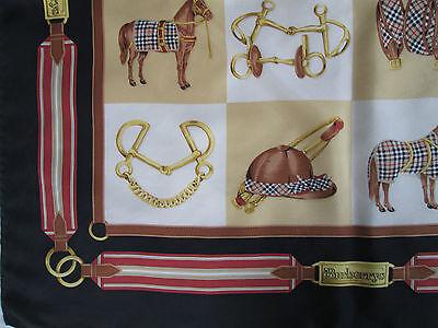 3 sur 9 -Superbe Foulard BURBERRYS 100% soie TBEG vintage scarf collector A  saisir 667d79792cf