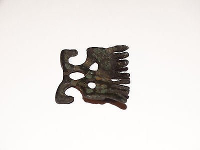Traditional pagan female zoomorphic Viking pendants comb. ca 800-1000 AD 3