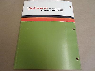 1976 JOHNSON OUTBOARDS Service Shop Manual 115 HP 115EL76 115ETL76 OEM Boat  x