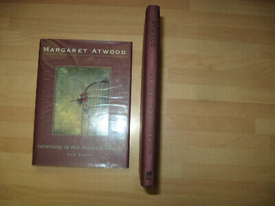 Margaret Atwood Morning in the Burned House Signed 1st poems Booker Prize Winner 4