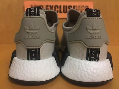 huge selection of a9046 2dd87 ADIDAS NMD R1 Tan Cream White Black 3M Nomad Runner Originals S76848 LIMITED