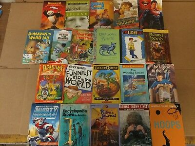 Lot of 20 Chapter Books for BOYS Youth Early Reader Young Adults Children RANDOM 9
