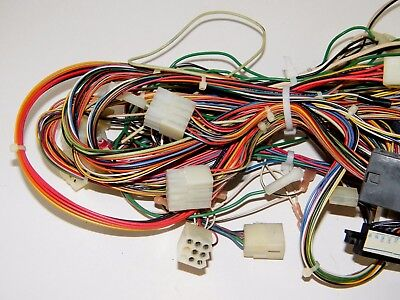 ATARI SURF PLANET Arcade Game Wiring Harness, Wire ~ Used - $128.14 on suspension harness, obd0 to obd1 conversion harness, battery harness, safety harness, engine harness, alpine stereo harness, oxygen sensor extension harness, cable harness, dog harness, nakamichi harness, maxi-seal harness, amp bypass harness, electrical harness, fall protection harness, pony harness, radio harness, pet harness,