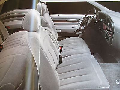 Good Condition 1989 FORD TAURUS BROCHURE 89