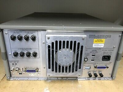 HP 4145B Semiconductor Parameter Analyzer Hewlett Packard ID-AWW-AWW-9-3-4 7