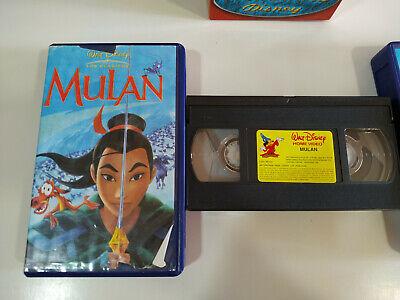 La Bella y la Bestia - Pocahontas - Mulan - Walt Disney - 3 x VHS Cinta Español 6