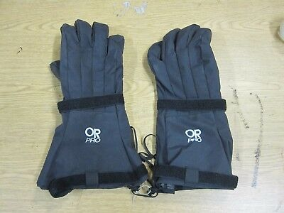 New Outdoor Research Military Black Pro Mod Gloves with Liner XXL USGI